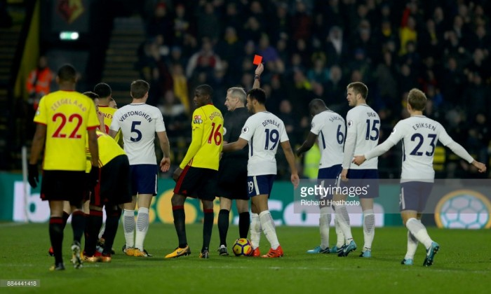Analysis: Sloppy Spurs lucky to leave Vicarage Road with point