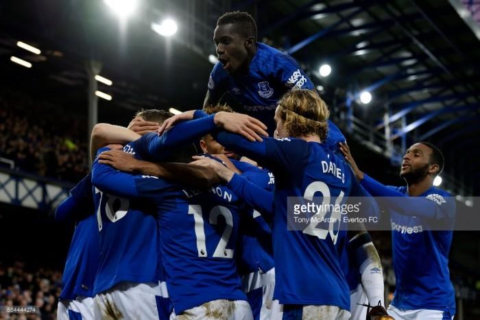 Everton 2-0 Huddersfield Town: Sigurðsson & Calvert-Lewin strikes start Allardyce era with win