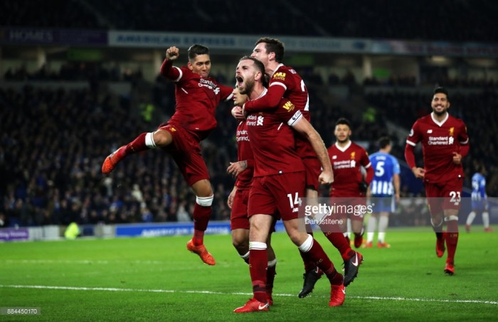 Brighton v Liverpool — Liverpool FC Streams