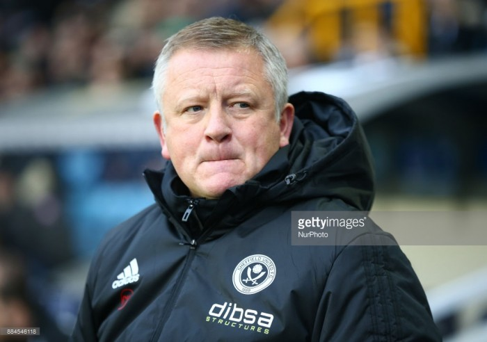 Chris Wilder left frustrated following Sheffield United's 2-1 defeat to Bristol City