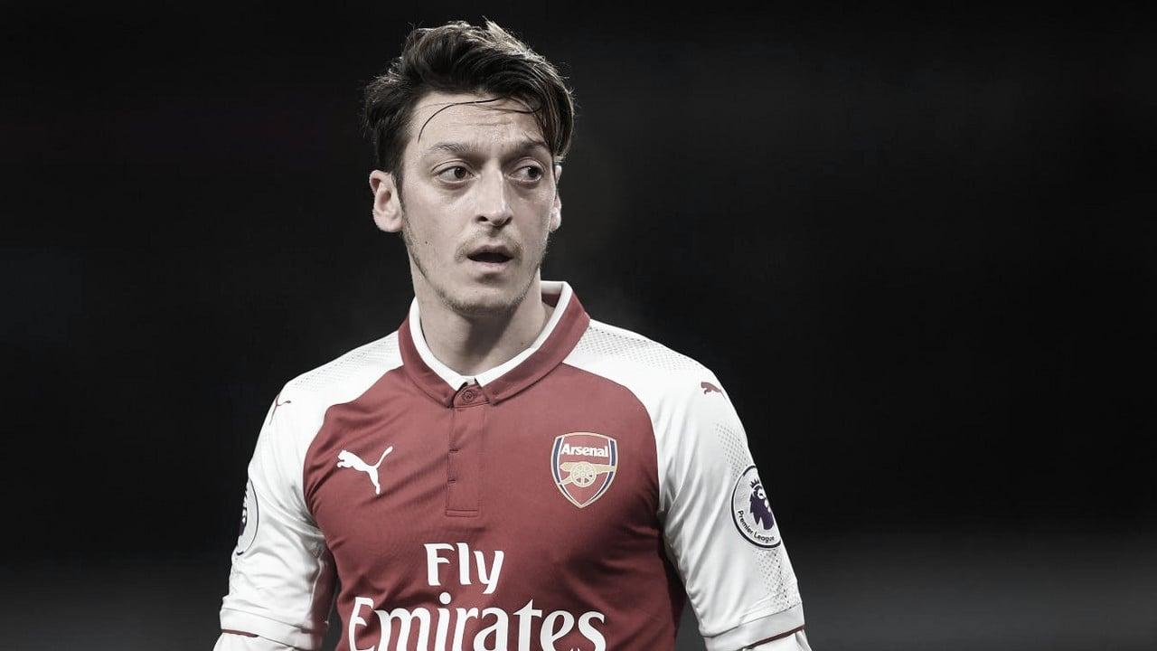Özil no fue parte de la convocatoria en ningún juego de la temporada. Foto: Premier League.