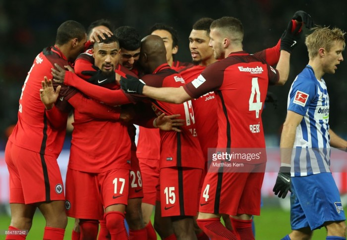 Hertha BSC 1-2 Eintracht Frankfurt: Boateng earns Eagles a hard earned victory over the Old Lady