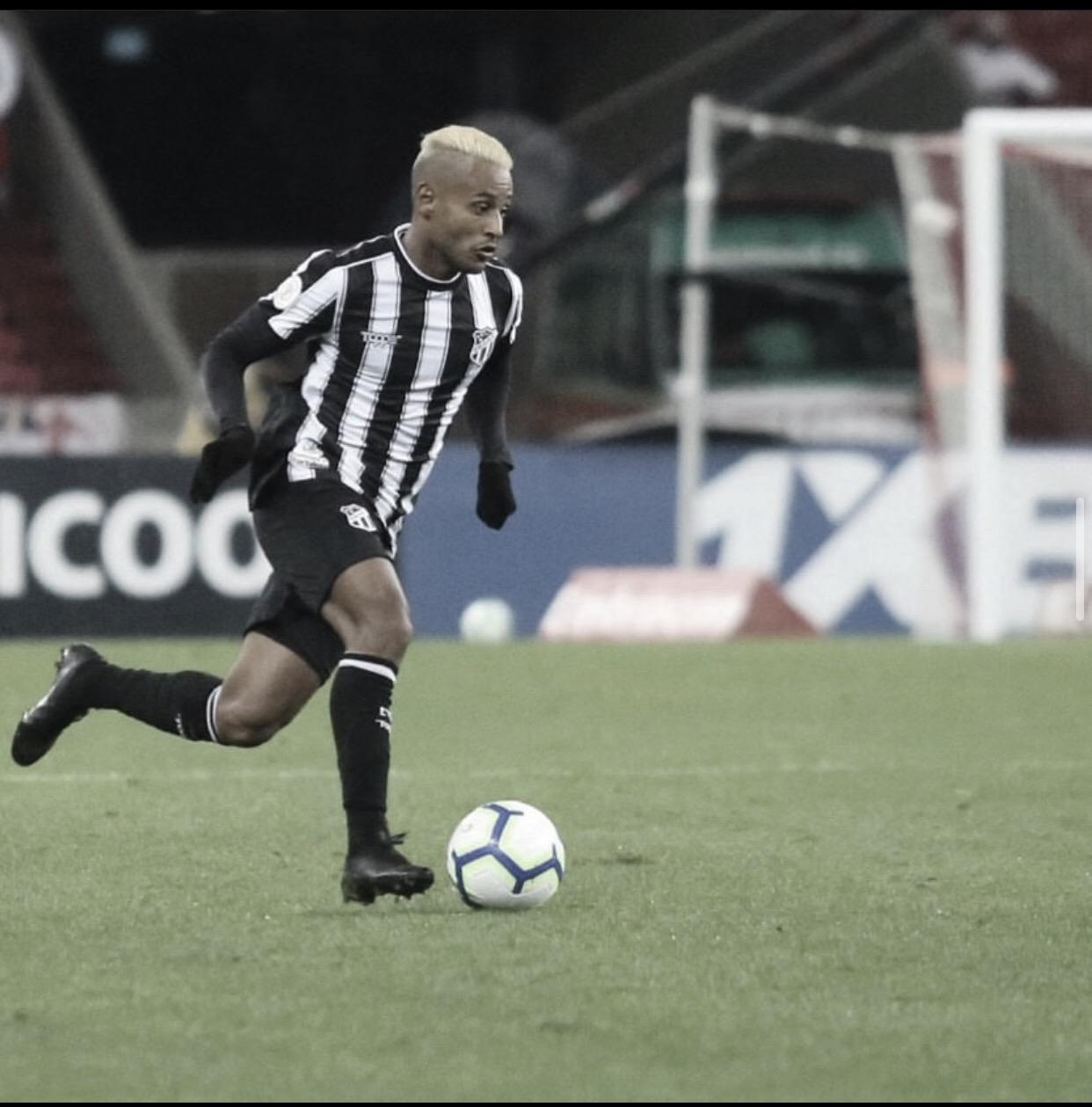 Mateus Gonçalves é opção para o ataque do Ceará contra São Paulo