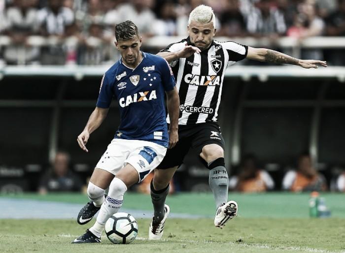 Botafogo busca empate com Cruzeiro, masnão consegue classificação à Libertadores