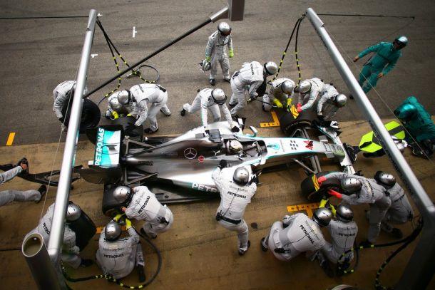 GP Spagna, dominio Mercedes, terzo Ricciardo