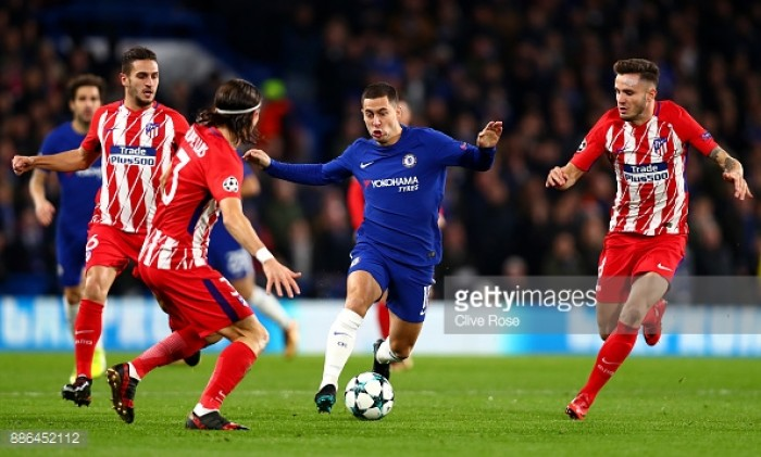 Chelsea 1-1 Atlético Madrid: AntonioConte's men secure a place in the Champions League knock-out stages