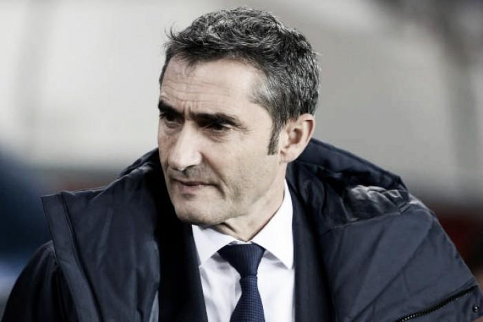 """Valverde comemora vitória e já pensa nas oitavas: """"A partir de agora se paga mais caro pelos erros"""""""