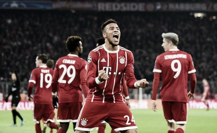 Tolisso marca dois e Bayern supera PSG, mas franceses ficam com liderança do grupo