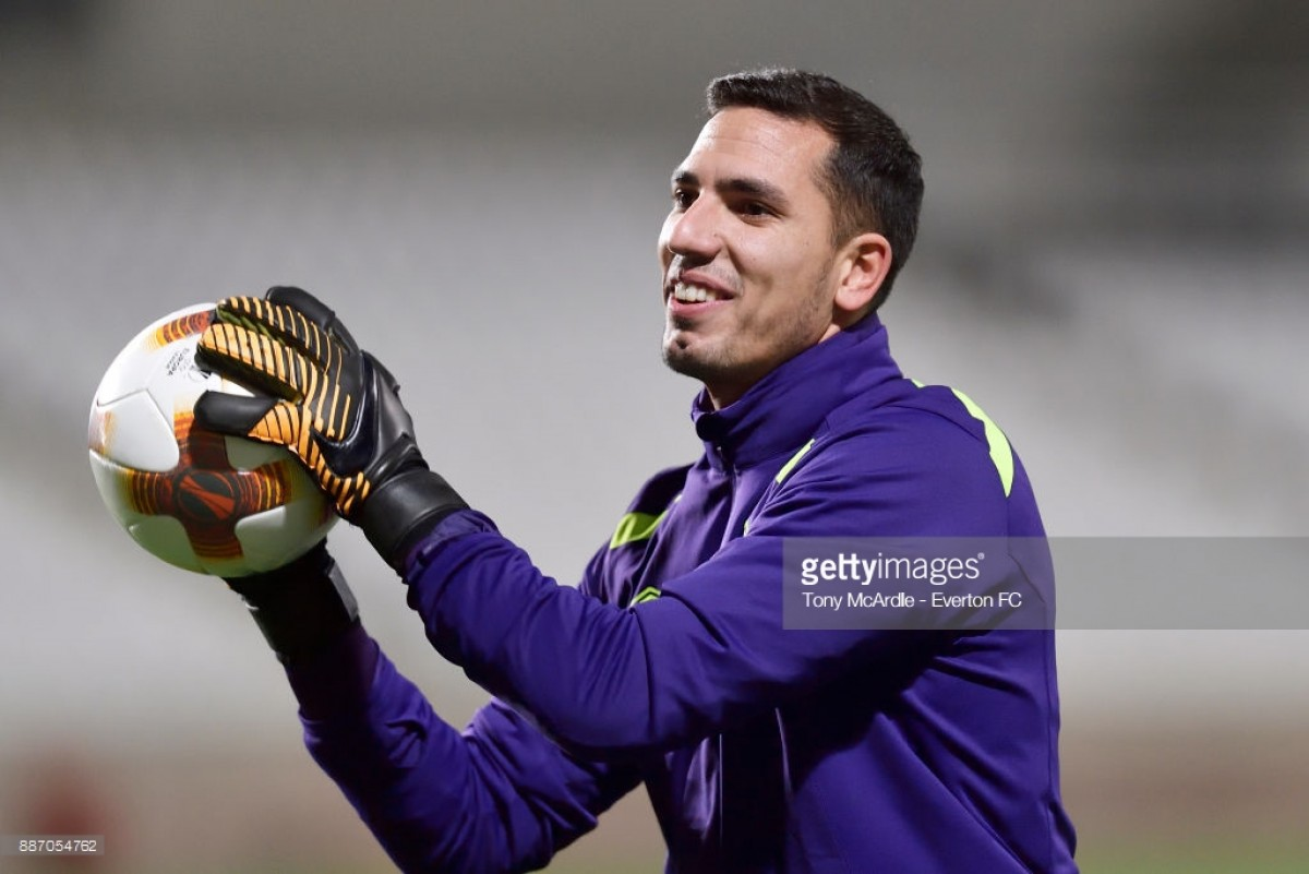 Everton goalkeeper Joel Robles reportedly set to join Getafe in the summer