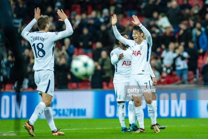 Tottenham cruise to victory as they remain unbeaten in the group stages