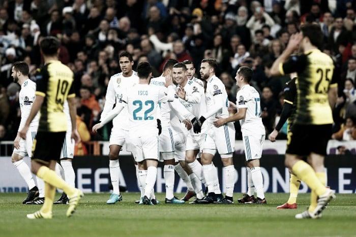 Em jogo agitado, Real Madrid volta a superar Dortmund e encerra fase de grupos com vitória