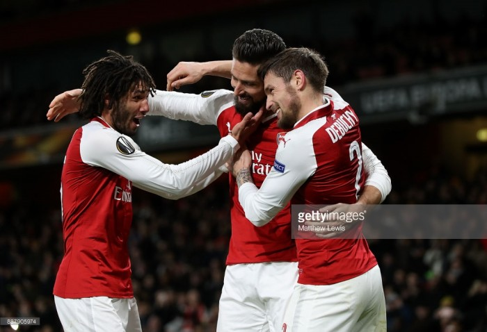 Arsenal draw Swedish side Ostersunds FK in Europa League last 32