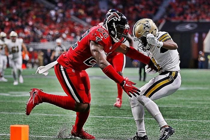 Falcons complica liderato de la NFC Sur con victoria ante los Saints