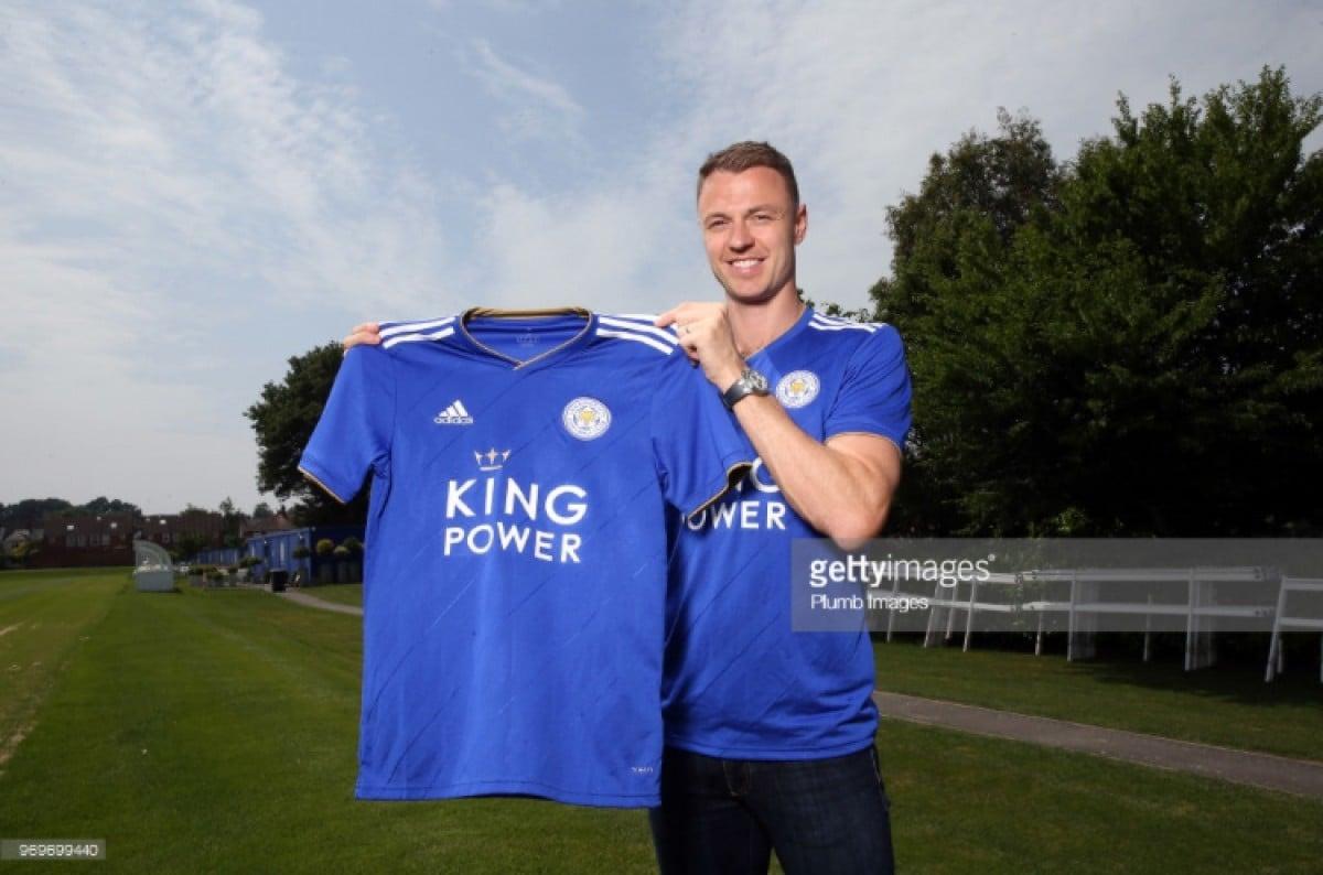 Leicester City complete Jonny Evans swoop