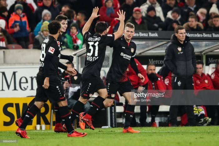 VfB Stuttgart 0-2 Bayer Leverkusen: Werkself end die Roten's unbeaten home record