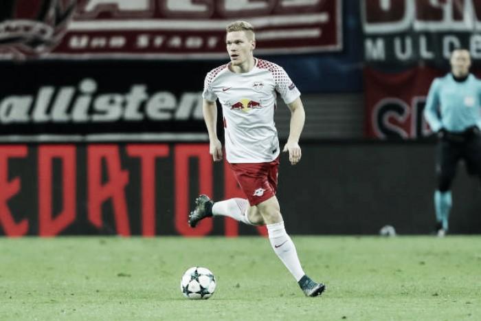 Lateral do RB Leipzig, Halstenberg rompe ligamentos do joelho e está fora da Copa