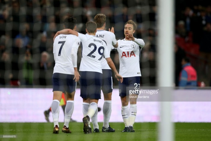 Tottenham Hotspur 5-1 Stoke City: Kane double completes Wembley rout for Spurs