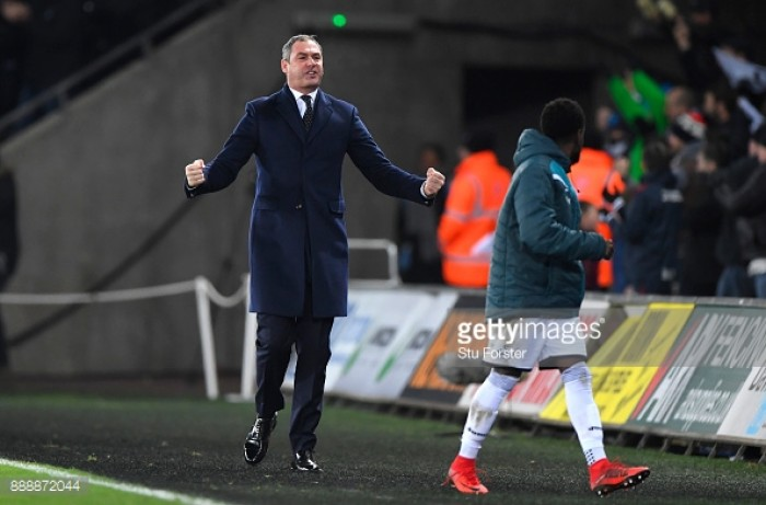 """Paul Clement believes Swansea City """"deserved"""" their win over West Brom"""
