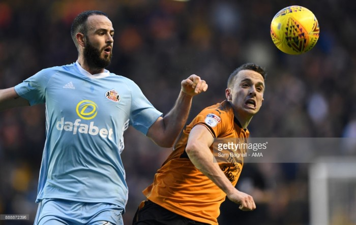Wolves 0-0 Sunderland: Well-drilled Black Cats deny league leaders at Molineux despite Cattermole red card
