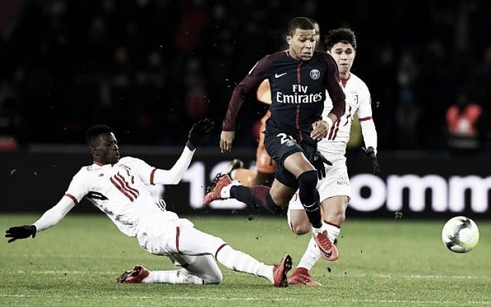 Francês: Gols de PSG 3 x 1 Lille
