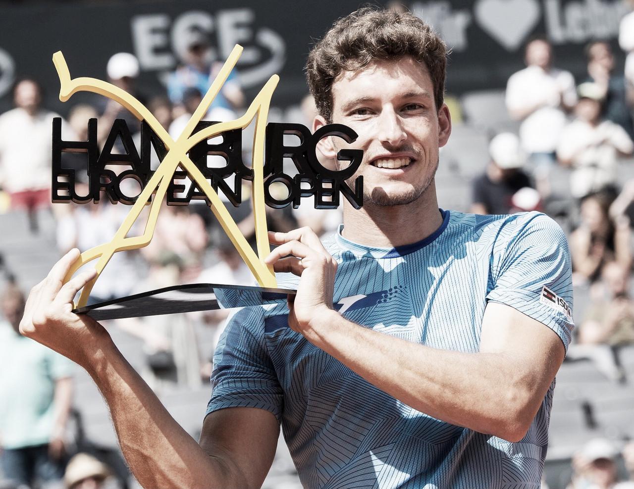 Carreño Busta bate Krajinovic na final em Hamburgo e conquista maior título na carreira