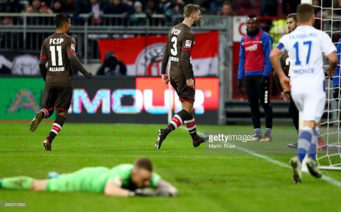 FC St. Pauli 2-2 MSV Duisburg:Markus Kauczinski starts with a draw