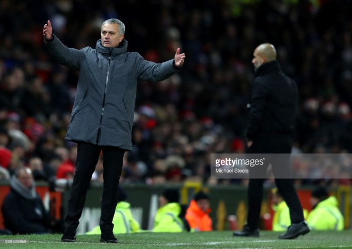"José Mourinho feels ""sorry"" for referee Michael Oliver following derby defeat"