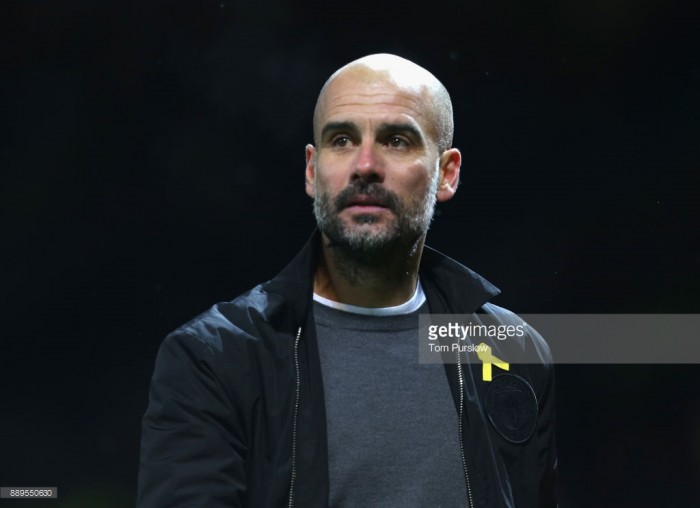 Pep Guardiola defends Manchester City's derby celebrations ahead of Swansea City visit