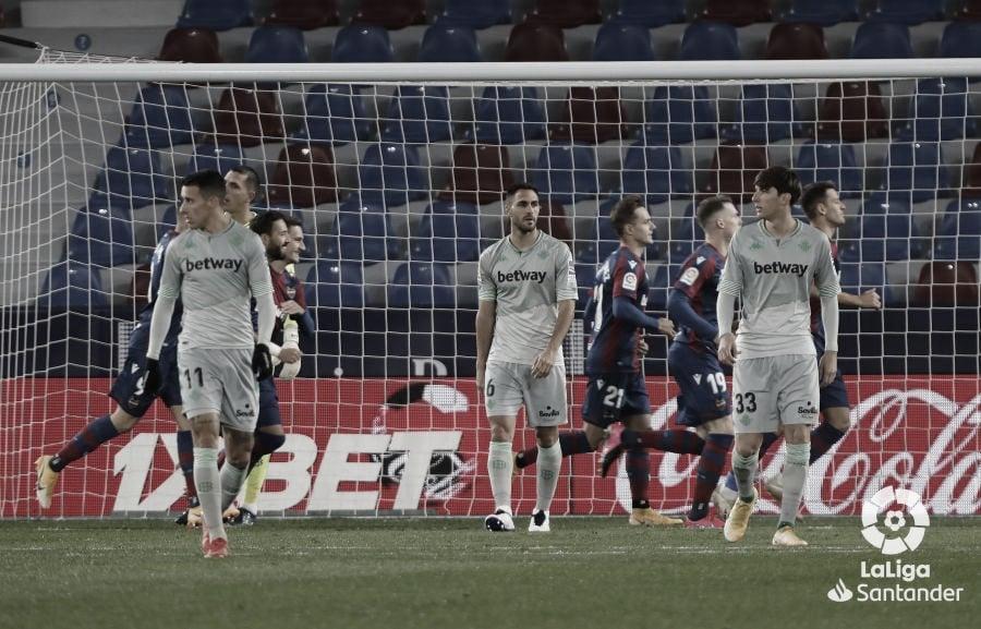 Resumen del Real Betis vs Levante en LaLiga (2-0)