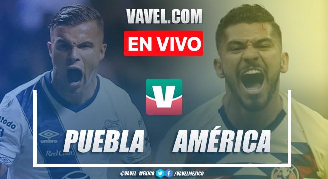 Resumen y goles: Puebla 0 - 1 América en Liga MX 2020