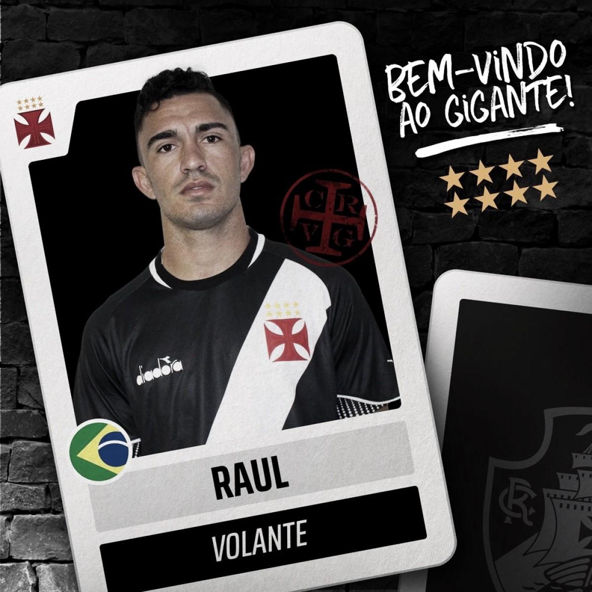 Vasco anuncia contratação de jovem volante Raul, revelado pelo Ceará
