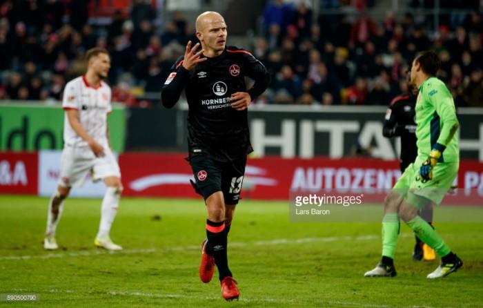 Fortuna Düsseldorf 0-21. FC Nürnberg: Der Club leapfrog hosts with strong second half display