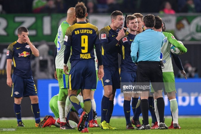 VfL Wolfsburg 1-1 RB Leipzig: Marcel Halstenberg goal not enough for a win