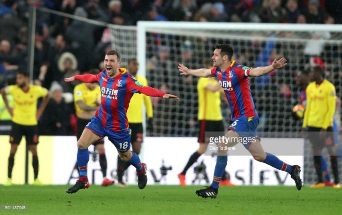 Crystal Palace 2-1 Watford: Super subs take Palace out of the bottom three