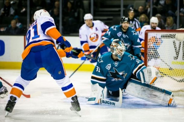 Thomas Greiss Claims Win Over Former Team As New York Islanders Take Down San Jose Sharks