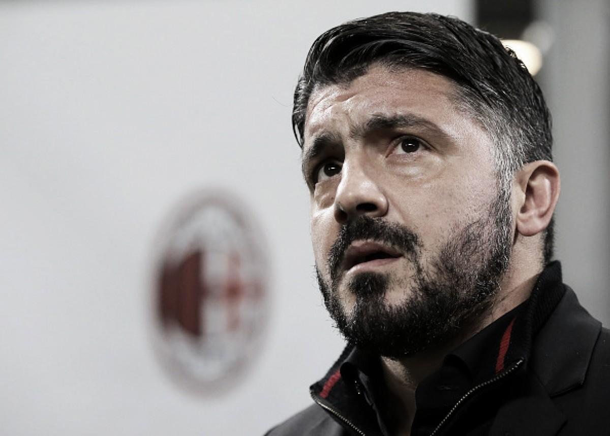 """Ancelotti diz que Gattuso é a 'alma do Milan': """"Os rapazes entrariam no fogo por ele"""""""