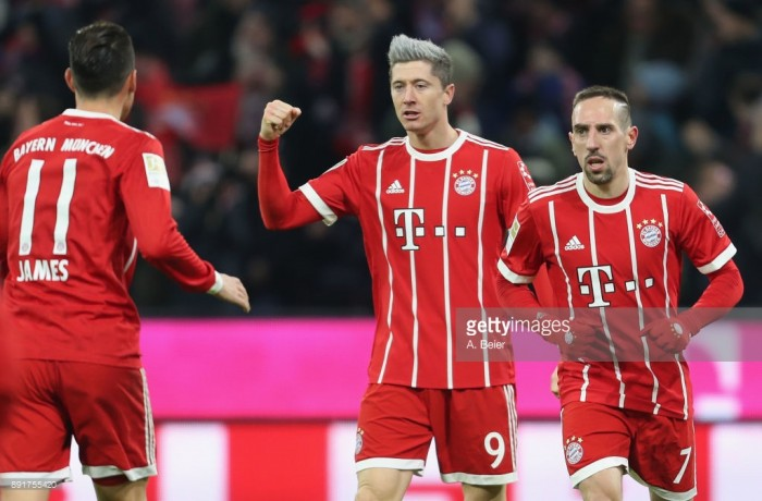 Bayern Munich 1-0 1. FC Köln: Robert Lewandowski breaks Billy Goats resistance