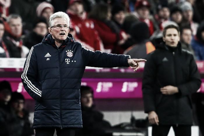 """Heynckes cita atuação abaixo em vitória do Bayern sobre Colônia: """"Deveria ser mais animado"""""""