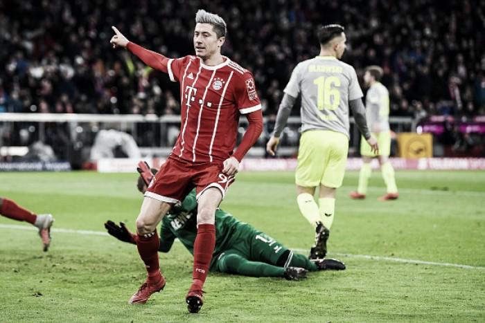Bayern de Munique sofre, mas bate Colônia e mantém folga no topo da Bundesliga