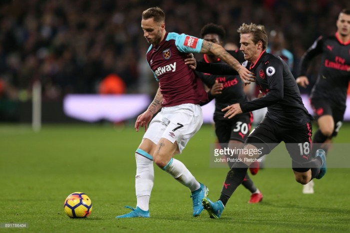 Mark Noble and Marko Arnautovic delighted with consecutive clean sheets as Hammers draw with Arsenal