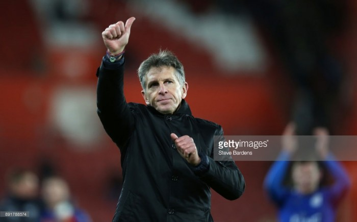 "Leicester City manager Claude Puel hails ""fantastic intensity"" after win over Southampton"