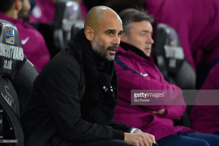"""Pep Guardiola states that he has a """"lot of respect"""" for Tottenham Hotspur ahead of Saturday's clash"""