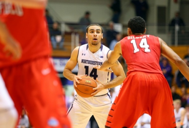 Northwestern Holds On Against Fairfield, 79-72