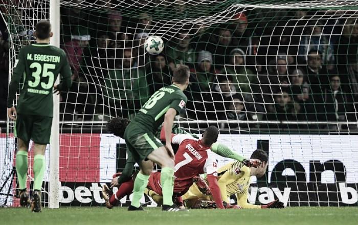 Werder Bremen abre boa vantagem, mas cede empate ao Mainz 05 no fim