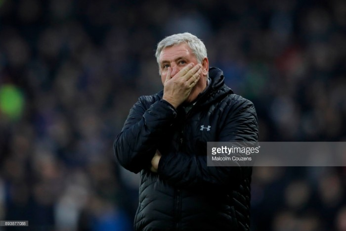 """Steve Bruce left to rue """"individual errors"""" following Aston Villa's defeat to Derby County"""