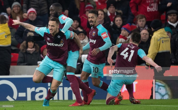 Stoke 0-3 West Ham: Hammers continue resurgence with second win under David Moyes