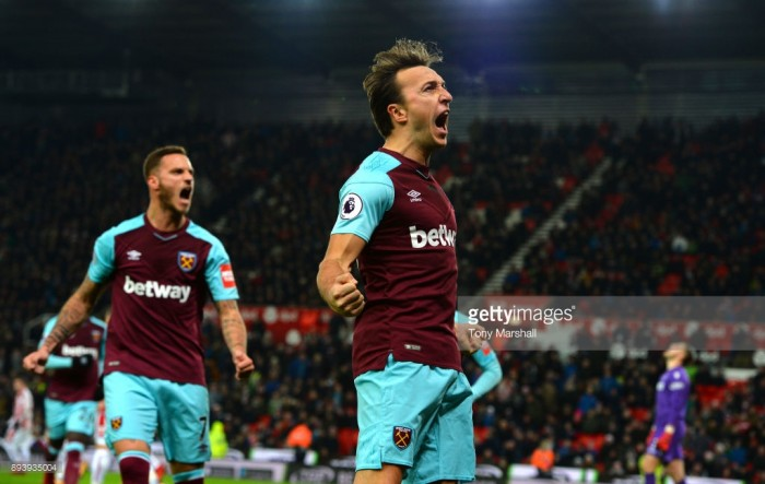 Mark Noble proud to mark 300th appearance for West Ham with three points