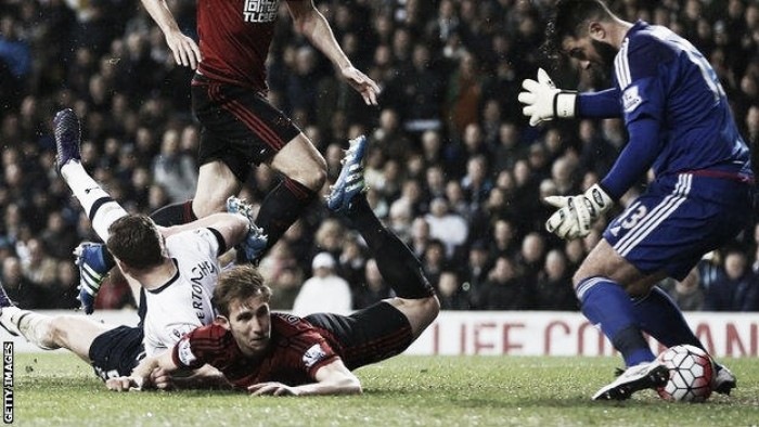 Frustrated Kane and Lloris unhappy with Baggies result