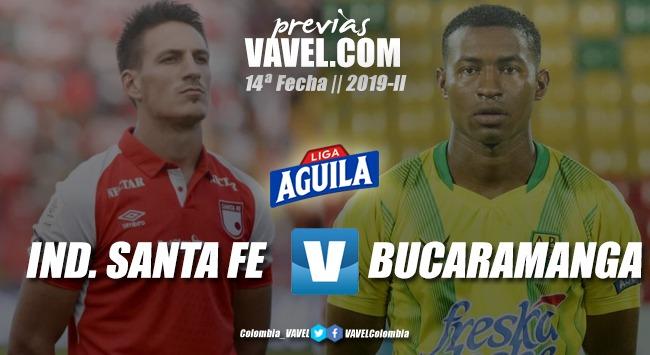 Previa Independiente Santa Fe vs. Atlético Bucaramanga: cada vez más cerca de los ocho