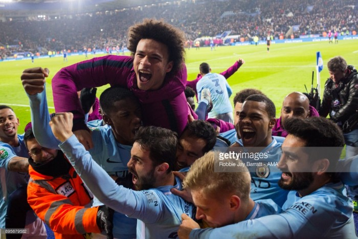 Are Manchester City part of the 'top six' or do they stand alone as the elite of the Premier League?